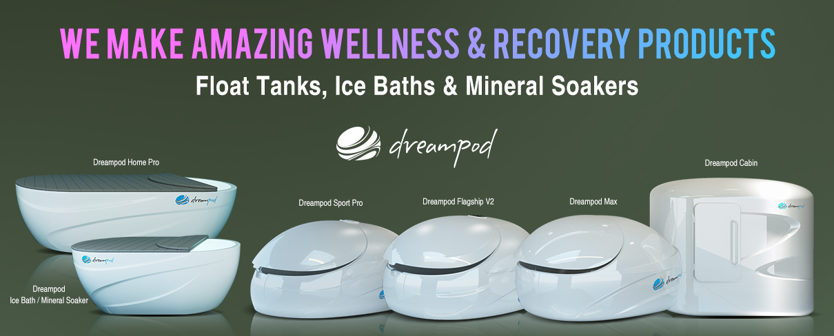 Dreampod new float tanks for business and home
