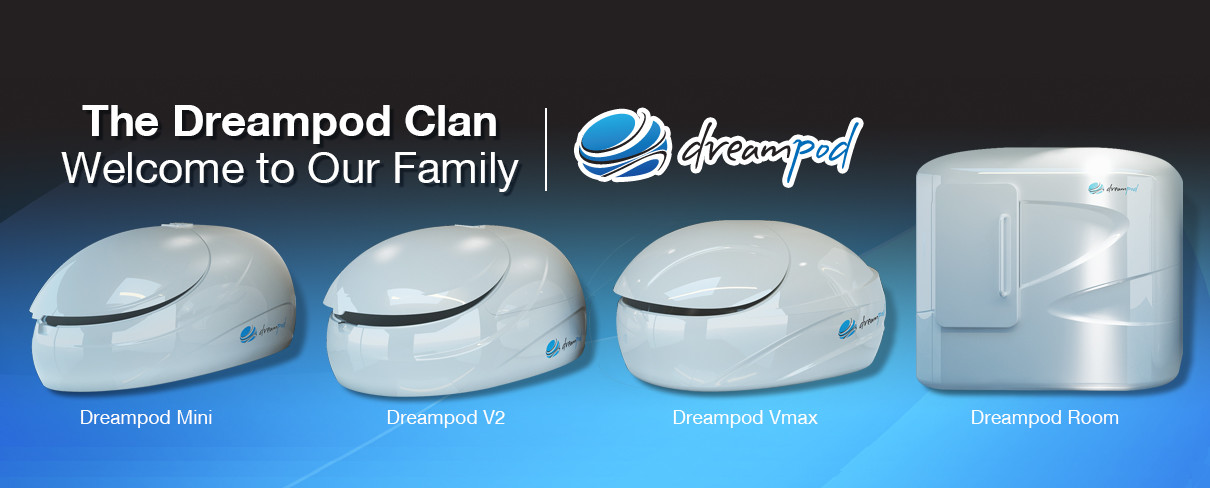 Dreampod float tanks