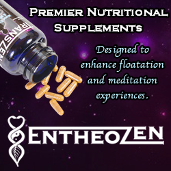 entheozen - supplements that enhance the floating experience