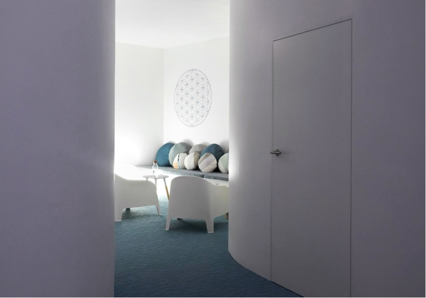 Relaxation room at Beyond Rest in Australia