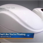 float pod at Escape Float Spa