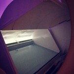 Open float tank at Halcyon Floats