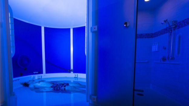 Open float room BBC Magazine