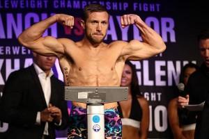 Lance Palmer weigh in