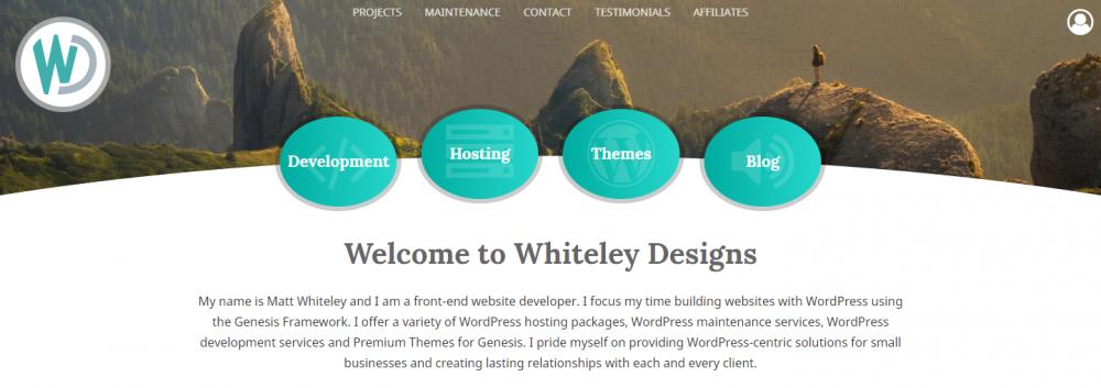 Whiteley Design Website Hosting for Float Centers
